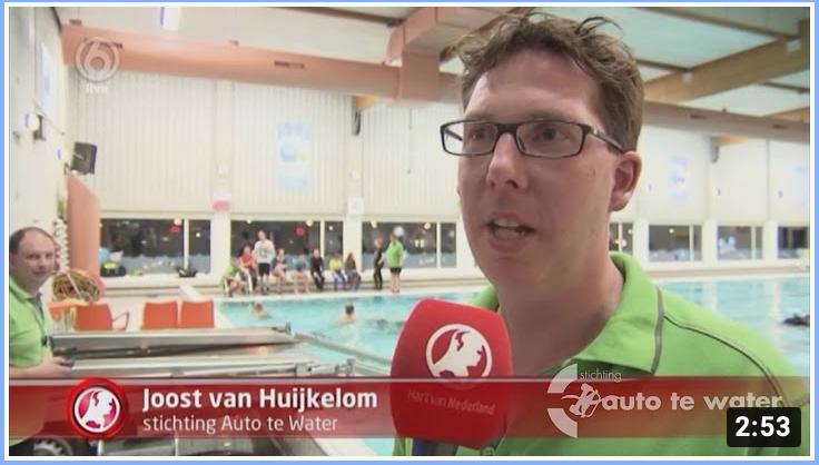 Auto te Water bij Hart van Nederland